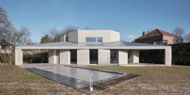 大胆的几何图形|比利时私人住宅设计