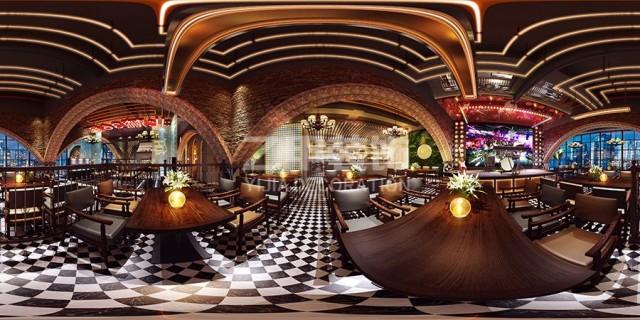 成都餐厅设计公司,成都餐吧装修设计,新疆餐吧设计案例