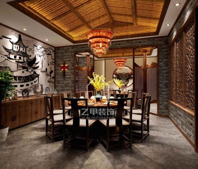 成都火锅店装修设计 贵阳火锅店装修 火锅店设计案例 专业餐厅设计公司 贵阳餐厅设计