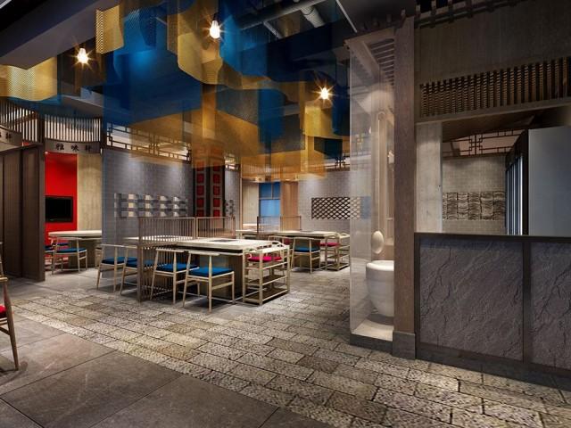 甘肃火锅店设计|甘肃火锅店装修|甘肃餐厅设计|甘肃主题餐厅设计|甘肃特色餐厅设计