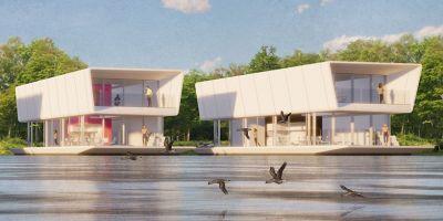 模块化水上住宅: 气候变化的创新建筑解决方案