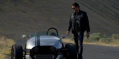 一半汽車一半摩托車懷舊跑車的相關圖片