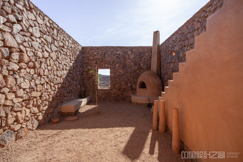 BC architects works with the local community to build 'the women's house' in rural morocco designboom
