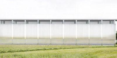 現代簡約的美國半透明加工棚設計的相關圖片