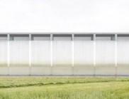 现代简约的美国半透明加工棚设计