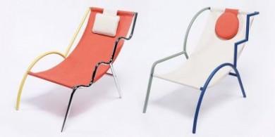 在2020年曼谷设计周期间展出的特色椅子