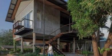 """会""""呼吸""""的房子——泰国乡村小别墅设计"""
