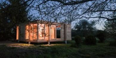 法国乡村木制度假屋,温暖而宁静
