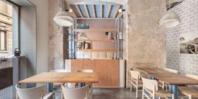 米兰28 Posti 饭馆的新室内设计项目
