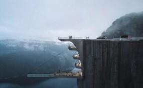 超刺激的挪威精品酒店,懸空泳池你敢來挑戰?