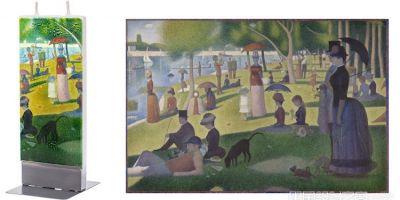 用這個《大碗島星期天的下午》蠟燭,的相關圖片