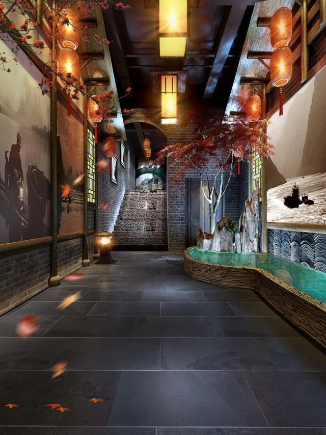 成都古典火锅店设计