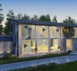 贵阳花园餐厅设计——三月私宴会所