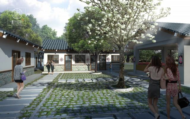 成都花园餐厅设计公司