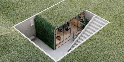 里約熱內盧地下辦公室概念的相關圖片