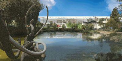 洛杉矶艺术博物馆重新设计的六种方案的相关图片