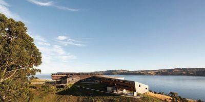桥梁一样的智利酒店设计,超大海景视的相关图片