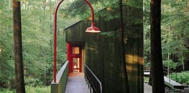 """一座""""森林之家""""的夢幻別墅,風景如畫"""