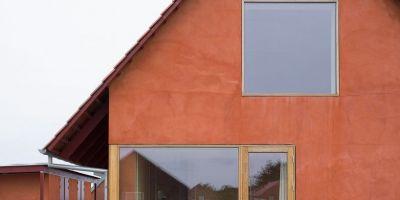 乡土建筑风格,温暖舒适的丹麦长屋的相关图片
