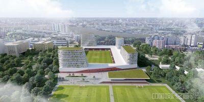 """""""多功能建筑地標""""——荷蘭足球場建的相關圖片"""