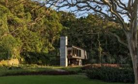 隐世之地,巴西热带雨林中的住宅
