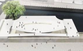 """德国""""自由和统一国家纪念碑""""在柏林破土动工"""