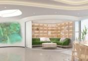 西安茶文化办公室装修设计图
