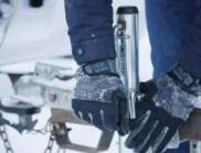 冬季勞動者防寒工作手套,機械磨損-防風冬季觸摸屏手套