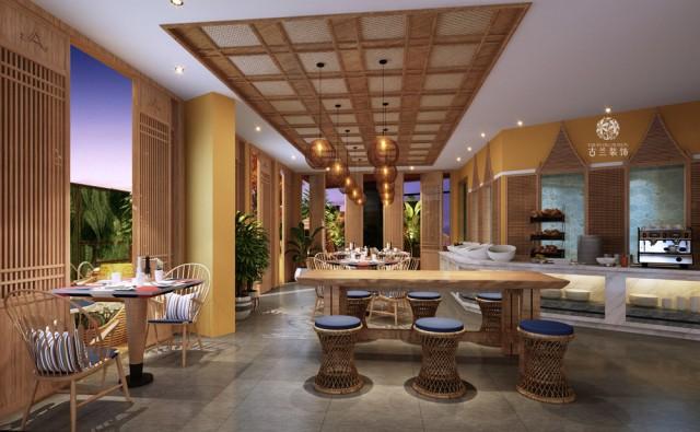 泰国酒店设计 成都度假酒店设计【thaeae twins hotel】