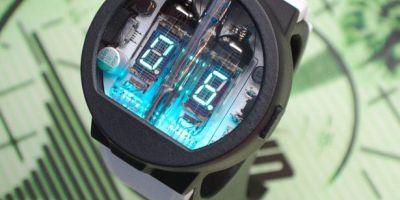 你沒看錯,這是一款獨特的未來派手表的相關圖片