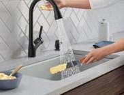 可聲音控制水量的廚房水龍頭,這個設計太逆天