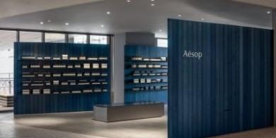 渾然天成的氣質,護膚品品牌Aesop日本專賣店
