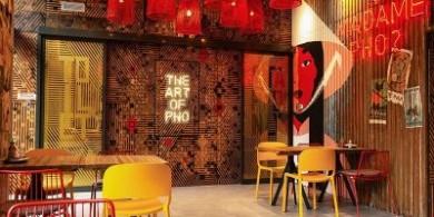 文化、紋理和歷史的碰撞,這個越南餐廳設計絕了!