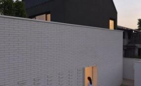 伊朗黑與白的簡單住宅設計