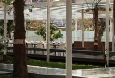 孟买这个学校的户外就餐区设计,尽显悲痛惋惜光与影的魔力相关图片