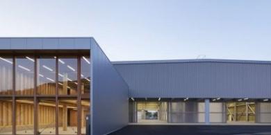 日本八座不同材质的钢屋面工厂