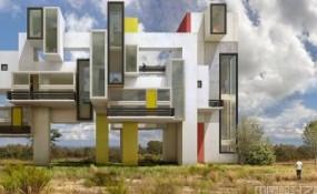 西班牙藝術家在大自然中投射出超現實的建筑視覺