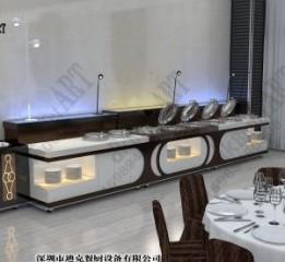 自助餐台设备 食堂自助餐台方案 固定