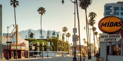 """一片宁静的绿洲,洛杉矶""""花园屋""""住的相关图片"""