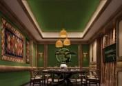 西安高级湘菜馆装修效果图