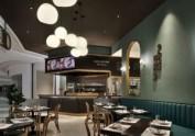 西安高级西餐厅装修效果图