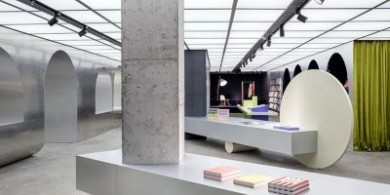alberto caiola的《杭州梦幻景观》将书籍艺术与家具融为一体