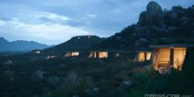 墨西哥山坡上还藏有这样一群别墅酒店?来这里隐居最合适不过了
