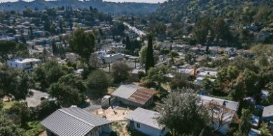 ADG在洛杉矶郊区完成艺术工作室和住宅大院的建设