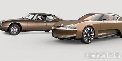 雪铁龙SM复兴概念车设计出炉,向雪铁的相关图片
