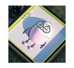 盲盒×《遇见蛋蛋》 ip形象卡通吉祥