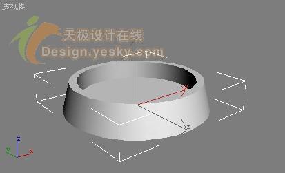 3DsMAX场景造型 烟灰缸和香烟