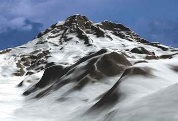 在3DS MAX中打造巍巍雪山