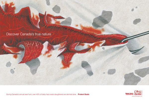 反皮草海报设计大赛获奖作品