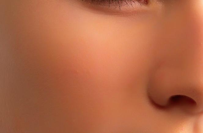 ps利用材质素材给磨皮后皮肤增加真实感